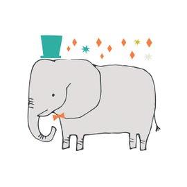 Sticker XL Elephant