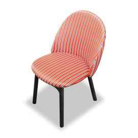 Iola chair in Dedar fabric
