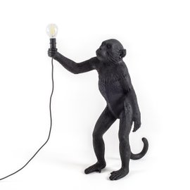 Standing Monkey outdoor lamp