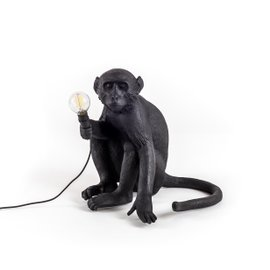 Sitting Monkey outdoor lamp