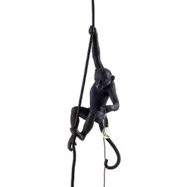 Monkey hanging outdoor lamp