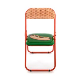 Hotdog folding chair
