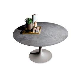 Flute round table Diam. 140 cm
