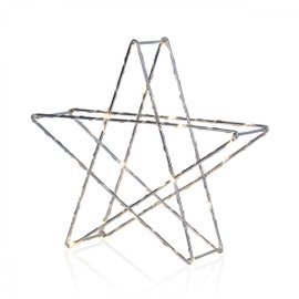 Super Star Decoration H 25 cm