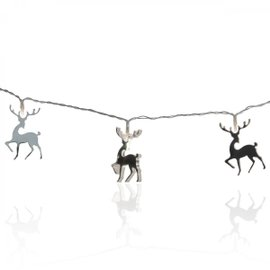 Mirror Reindeer Christmas Lights
