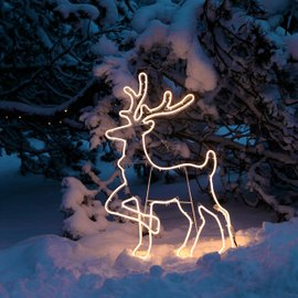 Reindeer decoration H 96 cm