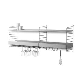 String S6A kitchen shelving system