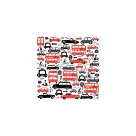 """What a Traffic!"" canvas 30x30 cm"