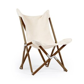 Tripolina La Classica Dark folding chair