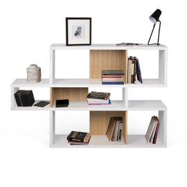 London 001 bookcase white