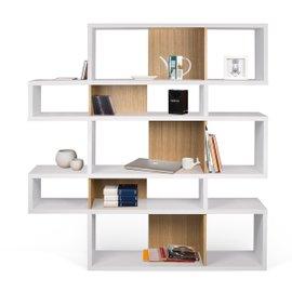 London 002 bookcase white