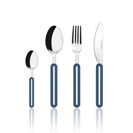 24 Piece Offset Cutlery Set