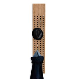 Scoreboard vertical coat rack