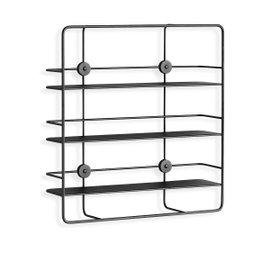 Coupe rectangular shelf