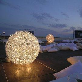 Lampada da terra Fil de Fer 12V Ø120 cm