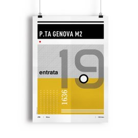 Tram 19 Milano poster - Special Edition