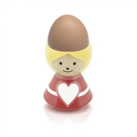 Girl Heart Egg Cup