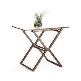 Table pliable en noyer Treee Bar