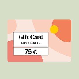 Gift Card 75euro